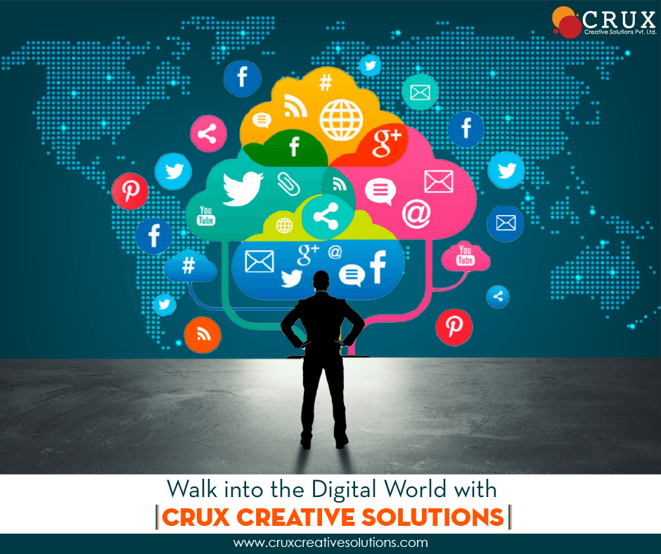 Crux Creative Solutions Company Best Services in Digital Marketing and Social Media Agency in Delhi