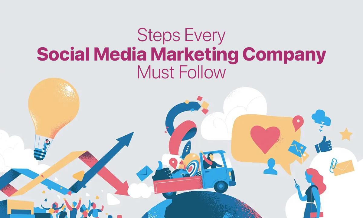 Steps Every Social Media Marketing Company Must Follow - Crux Creative Solutions