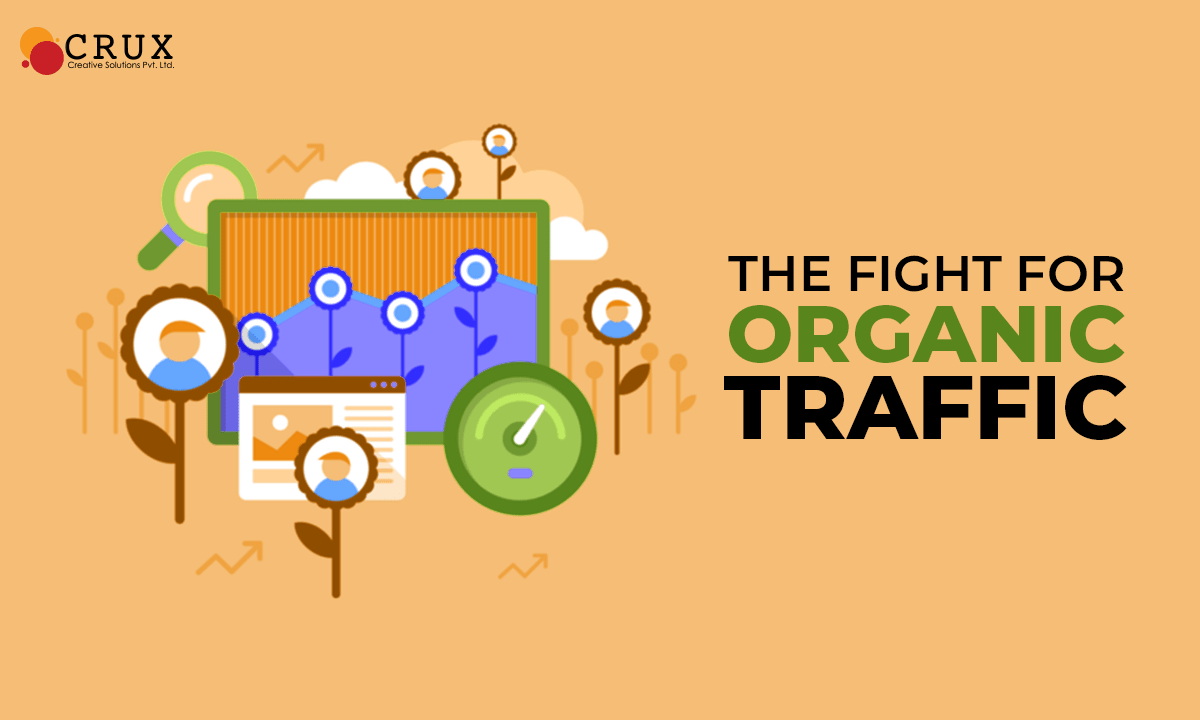 The Fight For Organic Traffic - Crux Creative Solutions
