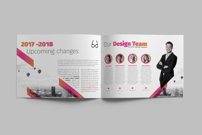 corporate brochure designing