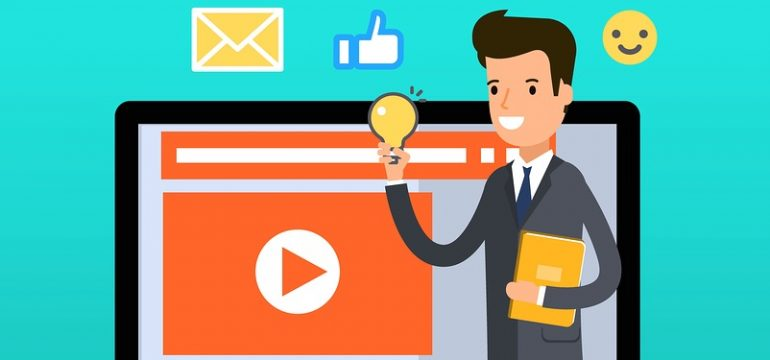 animated business video production